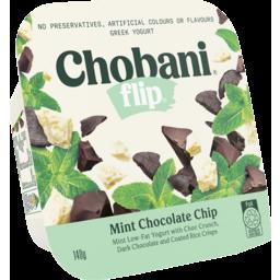 Photo of Chobani Flip Greek Yogurt Mint Chocolate Chip 140g