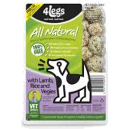 Photo of 4 Legs Pet Food Lamb & Rice 900gm