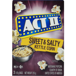 Photo of Act II Microwave Popcorn Kettle 255g