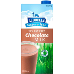 Photo of Liddells Milk Choc Lact/Fr 1l