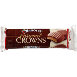 Photo of Arnotts Biscuits Caramel Crowns 200gm