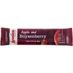 Photo of Annies Fruit Bar Apple & Boysenberry 30g