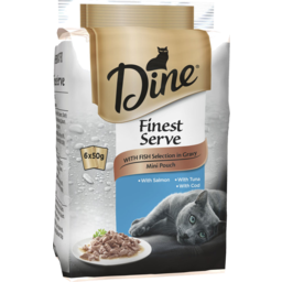 Photo of Dine Finest Serve Fish 6x50gm