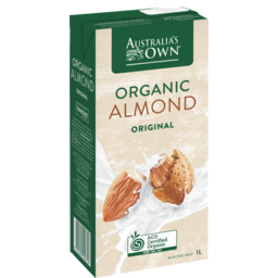 Photo of Australians Own Almond Milk Organic Almond 1l
