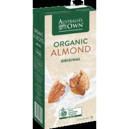 Photo of Australias Own Organic Almond Milk 1l