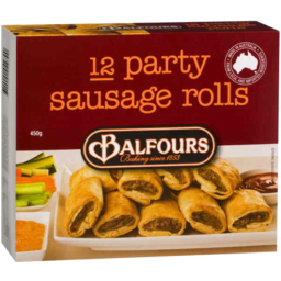 Photo of Balfours Party Sausage Rolls 12pk