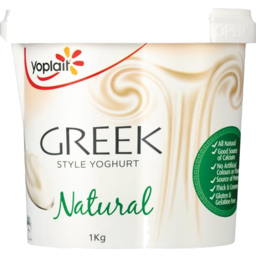 Photo of Yoplait Yoghurt Greek Style 1kg