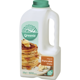 Photo of Green's The Original Pancake Shake Maple 325gm