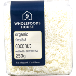 Photo of Wholefoods House Coconut Organic Shredded 250g