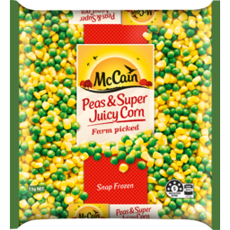 Photo of Mccain Vegetables Peas And Super Juicy Corn 1kg 1kg