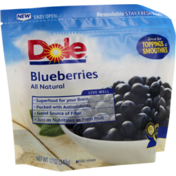 Photo of Dole Blueberries All Natural