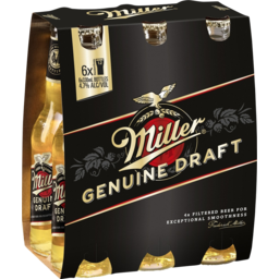 Photo of Miller Genuine Draft Stubbies