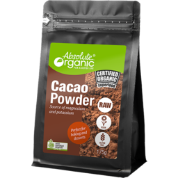 Photo of Absolute Organic Cacao Powder Raw 175gm