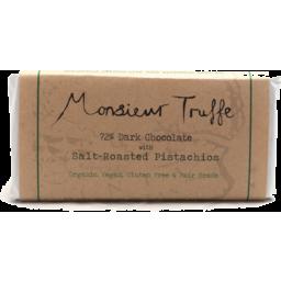 Photo of Monsieur Truffe 72% Dark Salt-Roasted Pistachios Chocolate