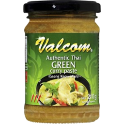 Photo of Valcom Authentic Thai Green Curry Paste 210g
