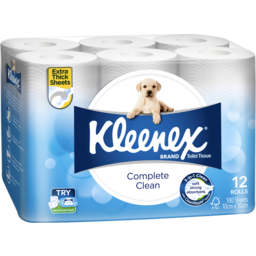 Photo of Kleenex Toilet Paper White 12pk