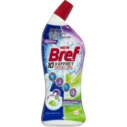 Photo of Bref 10xeffect Colour Change Indicator, Liquid Toilet Cleaner, 450ml