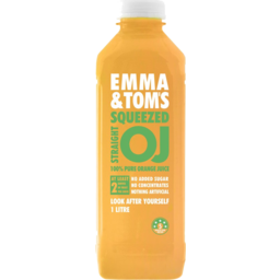 Photo of Emma & Toms Squeezed Oj 1l
