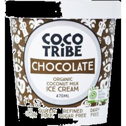 Photo of Coco Tribe Ice Cream Chocolate 470ml