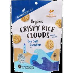 Photo of Ceres Organics Crispy Rice Clouds Sea Salt Sunshine
