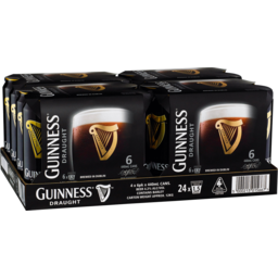Photo of Guinness Draught Can 440ml 24 Pack