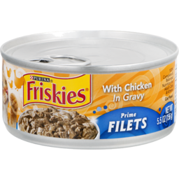Photo of Purina Friskies Prime Filets With Chicken In Gravy Cat Food