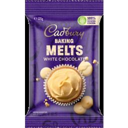 Photo of Cadbury Cooking Chocolate White Melts 225g