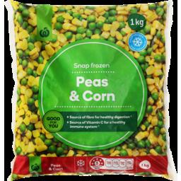Photo of Select Frozen Peas & Corn 1kg