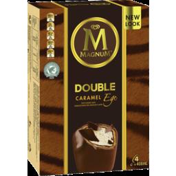 Photo of Magnum Ice Cream Double Caramel Ego 4 Pack 408ml