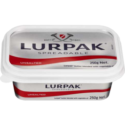 Photo of Lurpak Spreadable Danish Butter Unsalted 250gm