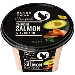 Photo of Black Swan Dip Salm Avo 200gm