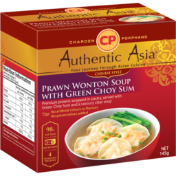 Photo of Authentic Asia Prawn Wonton Soup With Green Choy Sum 145g