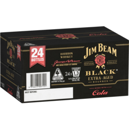 Photo of Jim Beam Black & Cola * Bottles