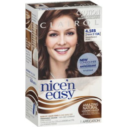 Photo of Clairol Nice 'N Easy 4.5rb Natural Redish Brown