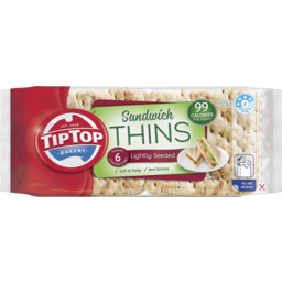 Photo of Tip Top Sandwich Thins Lightly Seeded 240g