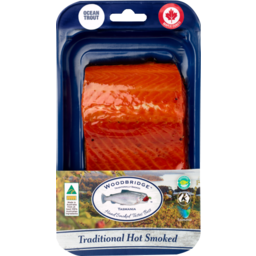 Photo of Woodbridge Hot Smoked Trout Maple 150g