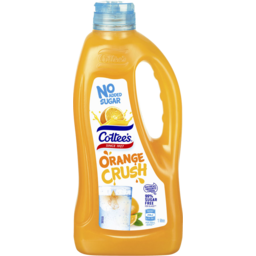 Photo of Cottees Orange No Added Sugar Cordial 1l