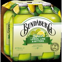Photo of Bundaberg Diet Lemon Lemon & Bitters 4x375ml