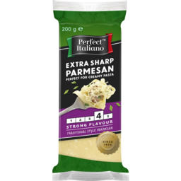 Photo of Perfect Italiano Parmesan Extra Sharp Extra Sharp Block 200g