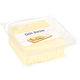 Photo of Deli Swiss Cheese 250g