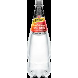 Photo of Schweppes Zero Sugar Blood Orange Tonic Water With Natural Blood Orange Flavour 1.1l