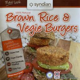 Photo of Syndian Brown Rice Vegie Burgers