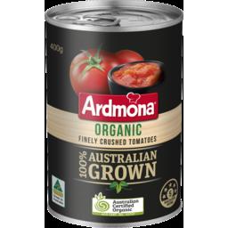 Photo of Ardmona Organic Finely Crushed Tomatoes 400g