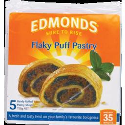 Photo of Edmonds Pastry Flaky Puff Sheet 750g