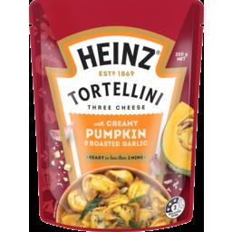 Photo of Heinz Three Cheese Tortellini Creamy Pumpkin & Roasted Garlic 350g