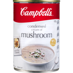 Photo of Campbell's Condensed Soup Cream Of Mushroom 420g 420g