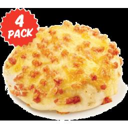 Photo of Oven Peel Bakery Roll Cheese & Bacon 4pk