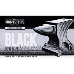 Photo of Monteith's Black 6 x 330ml Bottles