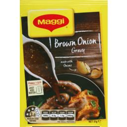 Photo of Maggi Gravy Mix Brown Onion (31g)
