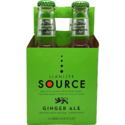 Photo of Llanllyr Source Ginger Ale 4 Pack
